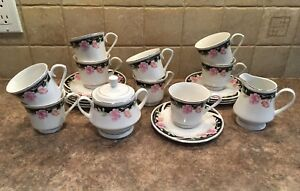 Fine China Cups & Saucers