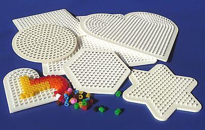 7-STÜCK STIFTPLATTEN Bügelperlenplatten für Bügelperlen mit ø 5mm    86-11