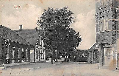 Jels Strasse , Bäckerei , Papierhandlung 1914