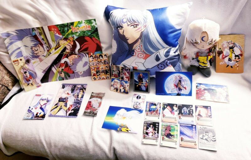 Rare Huge Sesshomaru Plush Lot!! (A Must See!!)