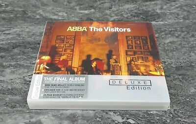 ABBA The Visitors Deluxe Edition CD + DVD 2012 GREAT CONDITION RARE OOP