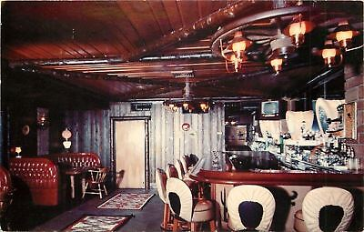 Phoenix Arizona~Western Village~Trails End Cocktail Lounge~Interior~1950s ()