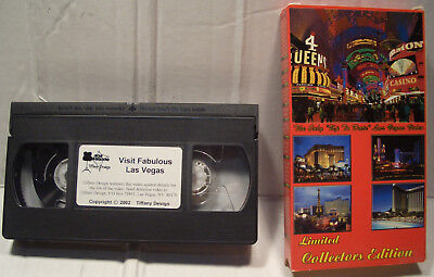 "2002 COLLECTIBLE EDITION ""VISIT FABULOUS LAS VEGAS"" VHS TAPE 1 FULL HOUR"