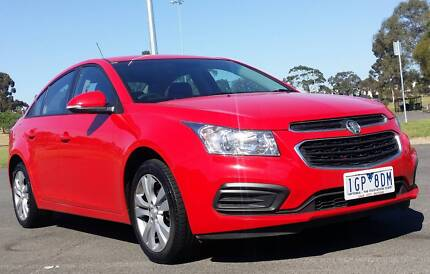 2016 HOLDEN CRUZE EQUIPE JH SERIES II AUTO WITH REGO / RWC