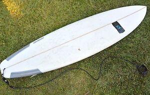 Sideways 'El Camino' Mini Mal Surf Board 7.0' Bardon Brisbane North West Preview