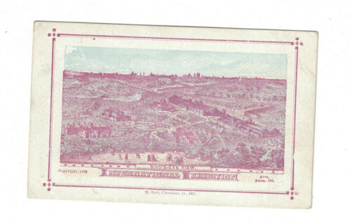 1876 Centennial Exhibition Card -- Bird