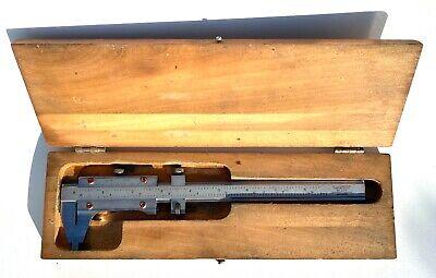Starrett No.123 - 8 12 Vernier Caliper Steel Inside Outside Measurements