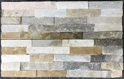 STACK STONE- BENGAL BLEND  400 x125x10mm- $2.50 per pc