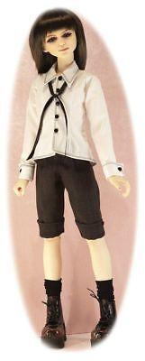 BJD SD pattern for 60cm males: shorts, 2 shirts, detachable cuffs & Steampunk