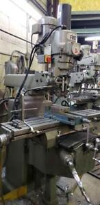 FIRST Knee Type Vertical Milling Machine