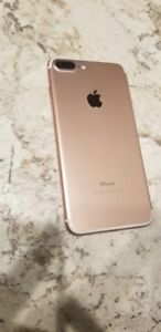 iPhone 7 plus 32 GB unlocked with Swarovski Case