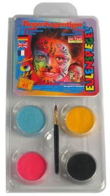 Halloween Face Paint - Tiger Make Up - - Tiger Kostüm Make Up