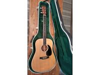 Martin d35 acoustic guitar and case trade/sell