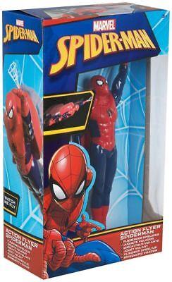 Fliegende Spielzeug (Spiderman Figur fliegende Actionfigur Figuren Kinder Spielzeug ab 3 Jahre Marvel)