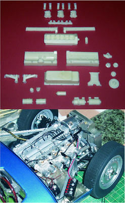 Catalogue of 1/8 scale model car conversion parts - Revell, Monogram, DeAgostini