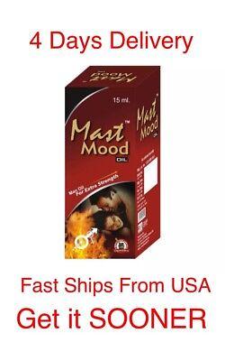 Ayurvedic Herbal Oil (Mast Mood Male Sexual Ayurvedic Herbal Erectile Dysfunction Oil)
