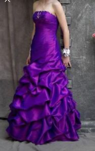 Purple Graduation Dress