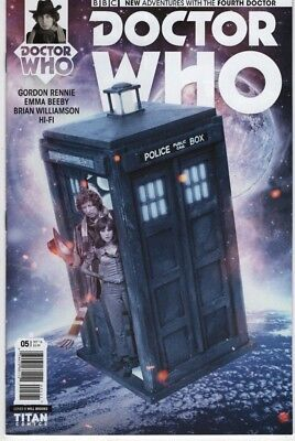 The 4th Doctor (Doctor Who The Fourth 4th Doctor #5 photo cover comic book TV television)