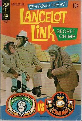 LANCELOT LINK SECRET CHIMP #1 (1971) Gold Key Comics VG+