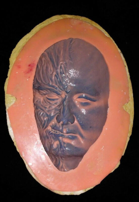 Robert Englund Freddy Krueger Face Cast Resin Mold (Money Maker)