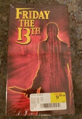 VHS...NEW SEALED...Friday The 13th 1980 Slasher Kevin -