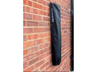Wall mounted brabantia washing line & cover