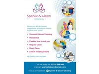 Sparkle and gleam cleaning