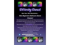 New Beginners Ballroom Dancing Classes!