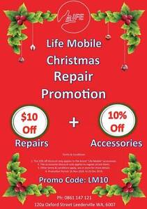 Christmas Promotion Phone Repairs! Leederville Vincent Area Preview