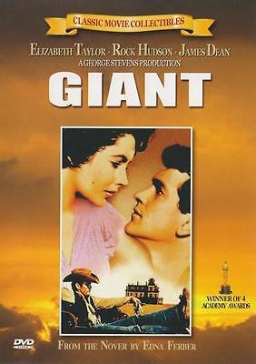 GIANT (1956) James Dean, Elizabeth Taylor DVD *NEW
