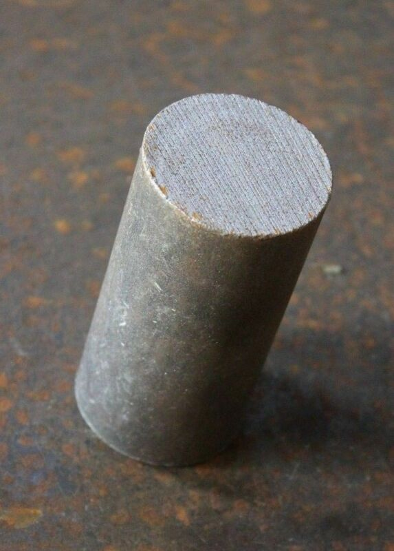 """4 PACK - Hammer Billets of NEW 1045 Steel! APPROXIMATELY 2"""" DIA x 4"""" LONG"""