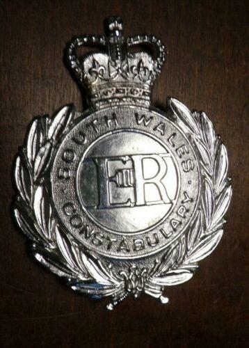"""Cap Badge UK British Constabulary (Bobby) -  South Wales 3"""""""