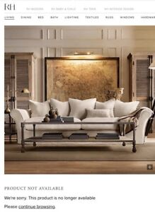 Restoration Hardware Camelback Sofa