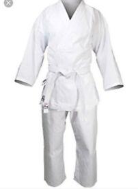 Sama karate kit and belts size 130 kids