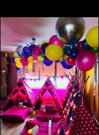 Tepee party tent hire
