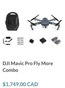 Dji Mavic Pro , Fly More Package !