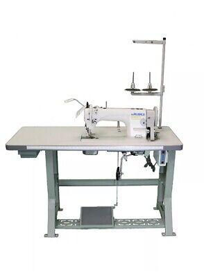 Juki Du-1181n Industrial Top Bottom Feed Sewing Machine Complete Set