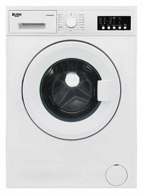 Bush WMNB812EW Free Standing 8KG 1200 Spin Washing Machine A++ White
