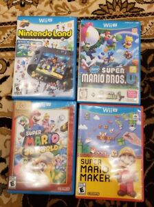 Nintendo Wii U Bundle! 2controllers,4great games and more !