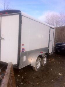 Year old 14' tandem trailer for sale