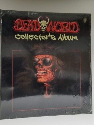 Lot of 2 Dead World Collectible Trading Card Binder Album With Promo Cards