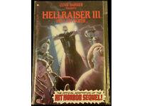 Clive Barker's HELLRAISER III MOVIE Adaptation #1 1st Print 1992.