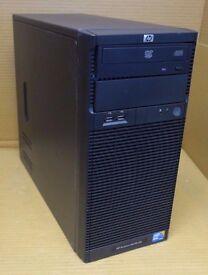 hp proliant micro server quadcore 8gb ram 2tb hdd