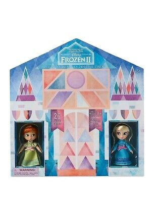 New Disney Store Frozen 2 Advent Calendar Christmas Holiday Elsa Anna Animators