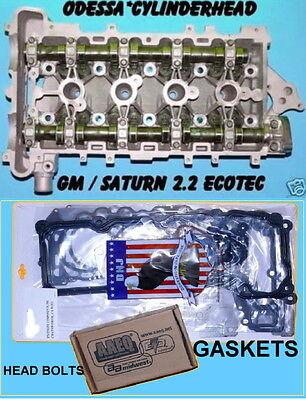 Gm Chevy Cavalier Cobalt Saturn 2 2 Dohc Ecotec Cylinder Head Bolts Gaskets