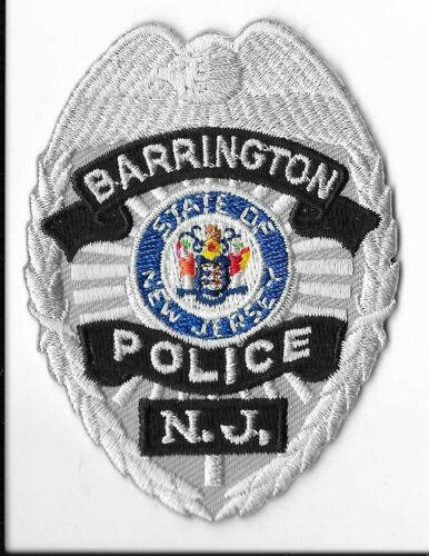 Barrington Police Department, New Jersey Breast Patch