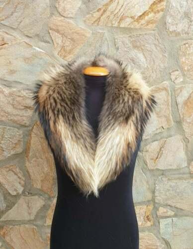 fur collar,fin raccoon fur collar,real fur