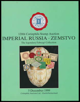 120th CORINPHILA STAMP AUCTION CATALOGUE. IMPERIAL RUSSIA - ZEMSTVO