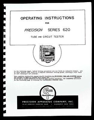 Precision Tube Tester 620 Operating Manual
