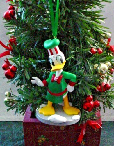 DISNEY MICKEY MOUSE HOLIDAY DONALD DUCK CUSTOM CHRISTMAS ORNAMENT NEW